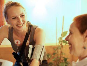 Spirometrie Untersuchung im Rahmen einer medizinizischen Trainingsplanung